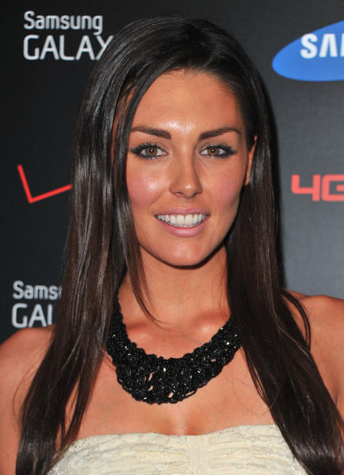 Taylor Cole at the Samsung and Verizon Launch The Samsung Galaxy Tab 10.1 in California.