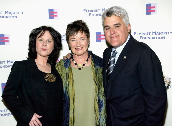 Mavis Leno, Jane Olson and Jay Leno at the Feminist Majority Foundation's Inaugural Global Women's Rights Awards.