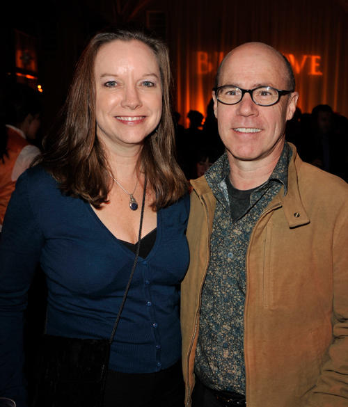 Karen and Barry Livingston at the after party of the California premiere of