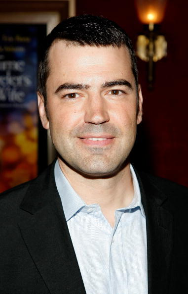 Ron Livingston at the New York premiere of