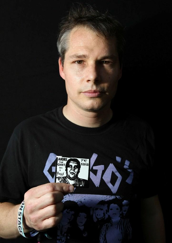 Shepard Fairey at the Coachella Valley Music & Arts Festival 2009.