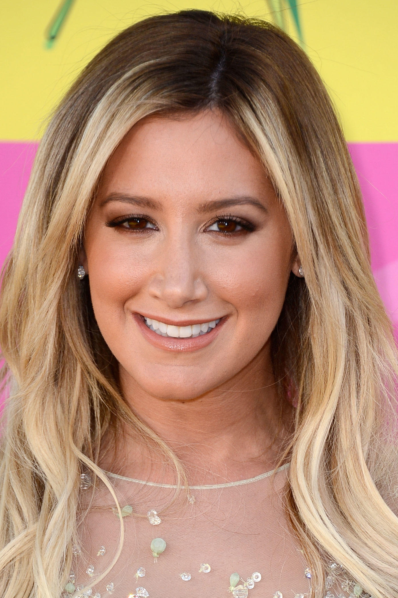 Ashley Tisdale at Nickelodeon's 26th Annual Kids' Choice Awards in L.A.