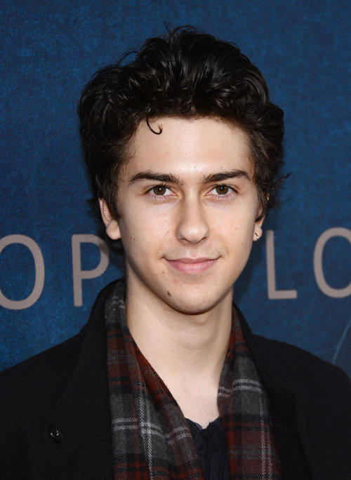 Nat Wolff at the New York premiere of