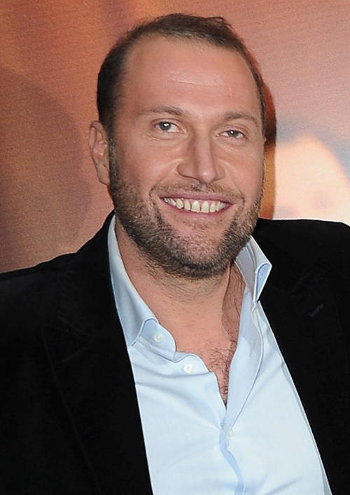Francois Damiens at the Paris premiere of