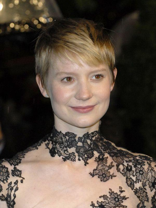 Mia Wasikowska at the London premiere of