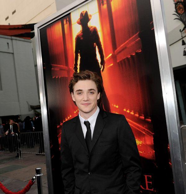 Kyle Gallner at the California premiere of