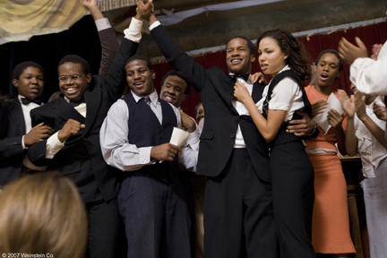 Denzel Whitaker, Jermaine Williams, Nate Parker and Jurnee Smollett in