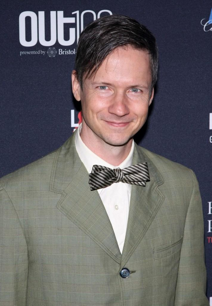 John Cameron Mitchell at the 15th Annual OUT 100 Awards.