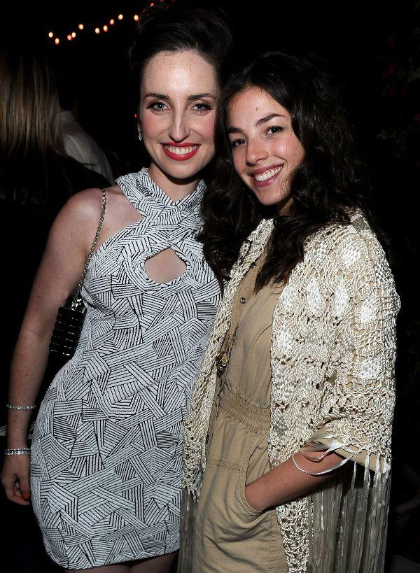 Zoe Lister-Jones and Olivia Thirlby at the after party of the California premiere of