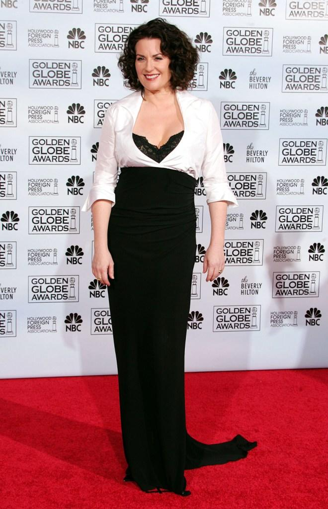 Megan Mullally at the 62nd Annual Golden Globe Awards.