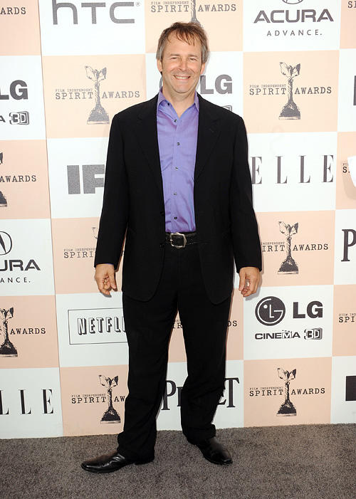 Chris Doubek at the 2011 Film Independent Spirit Awards in California.
