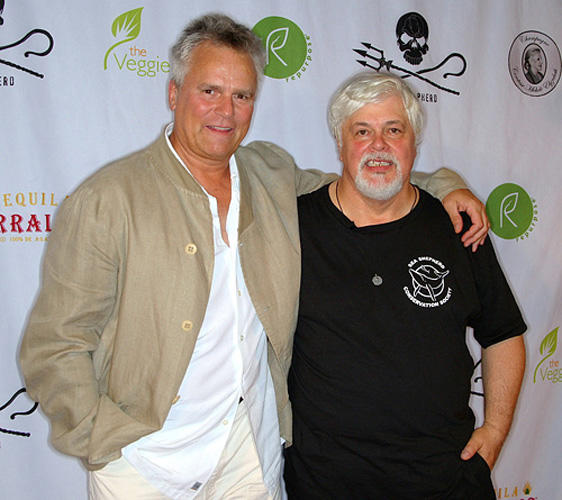 Richard Dean Anderson and Paul Watson at the