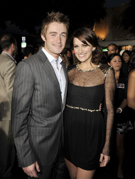 Robert Buckley and Shantel VanSanten at the California premiere of