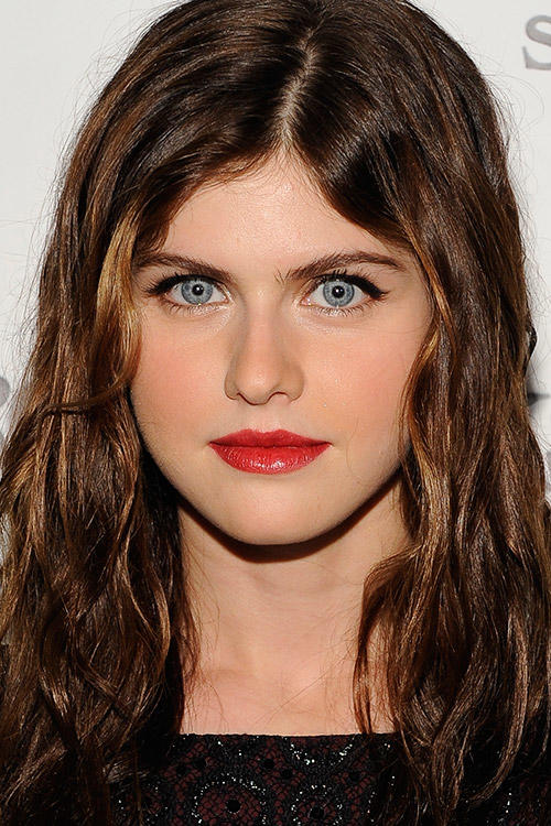 Alexandra Daddario at the N.Y. premiere of