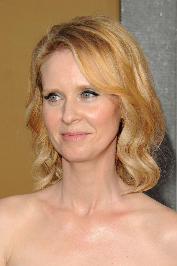Cynthia Nixon at the New York premiere of