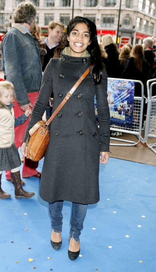 Amara Karan at the UK premiere of