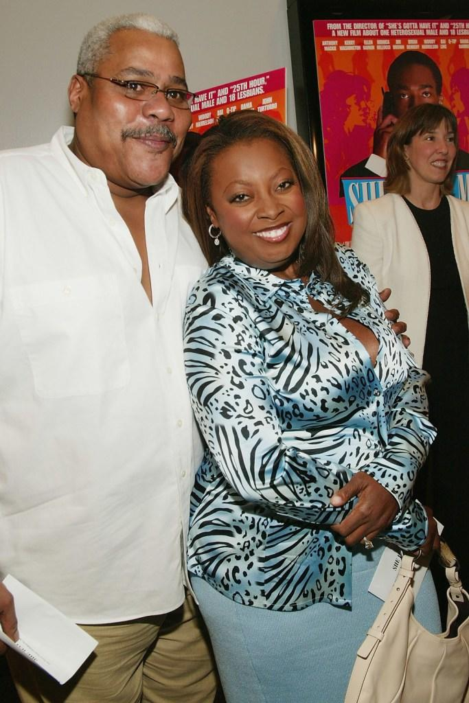 Bill Nunn and Star Jones at the New York premiere of