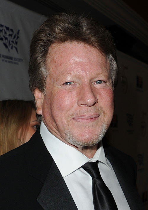 Ryan O'Neal at the 25th Anniversary Genesis Awards in California.