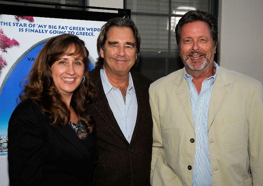Wendy Treece, Beau Bridges and Ian Ogilvy at the premiere of