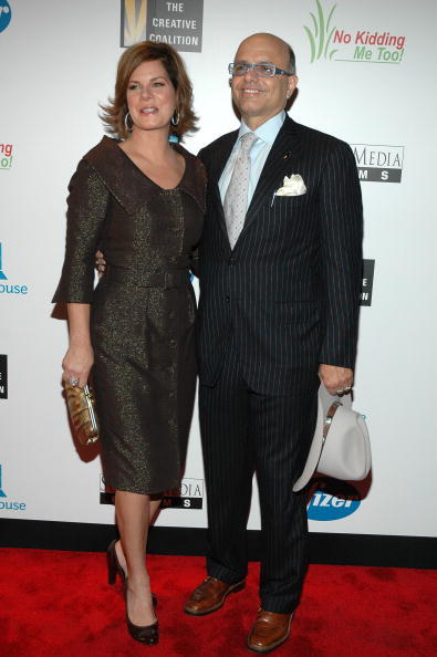 Marcia Gay Harden and Joe Pantoliano at the premiere of