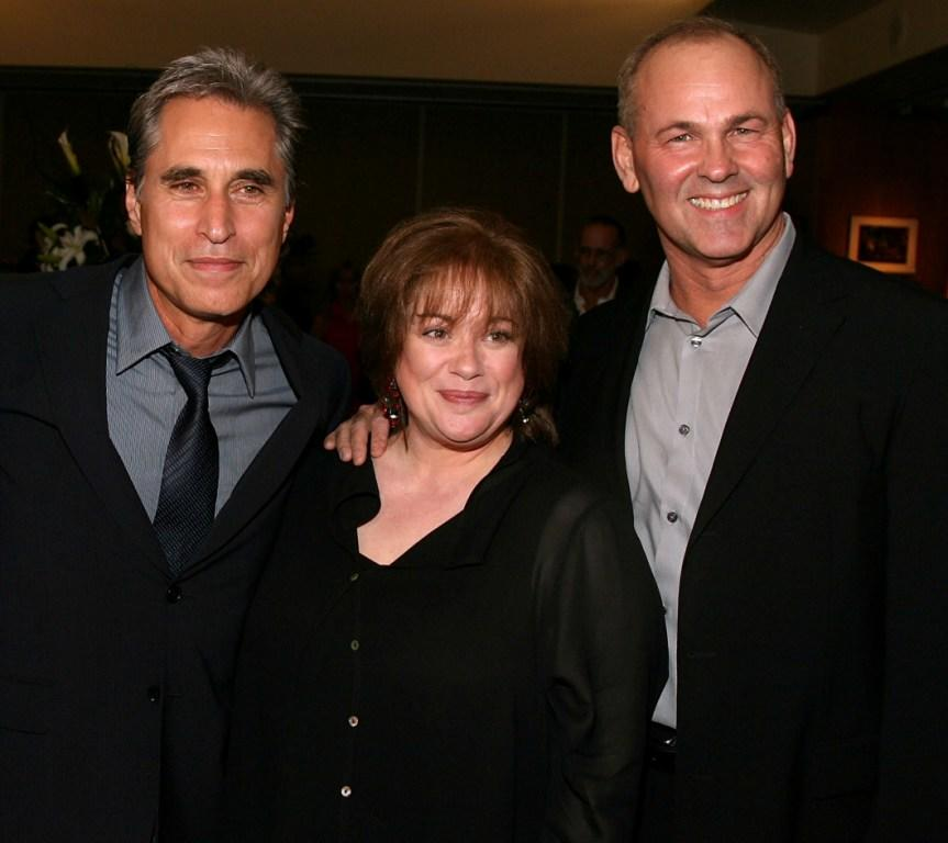 Joseph Cali, Donna Pescow and Paul Pape at the 30th anniversary screening of