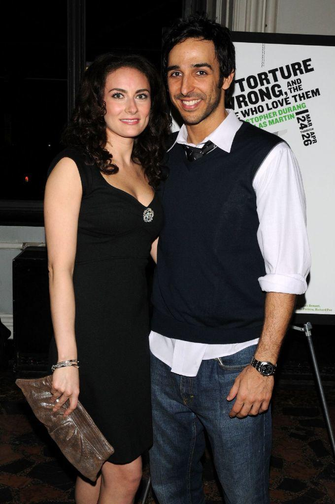 Laura Benanti and Amir Arison at the opening night of