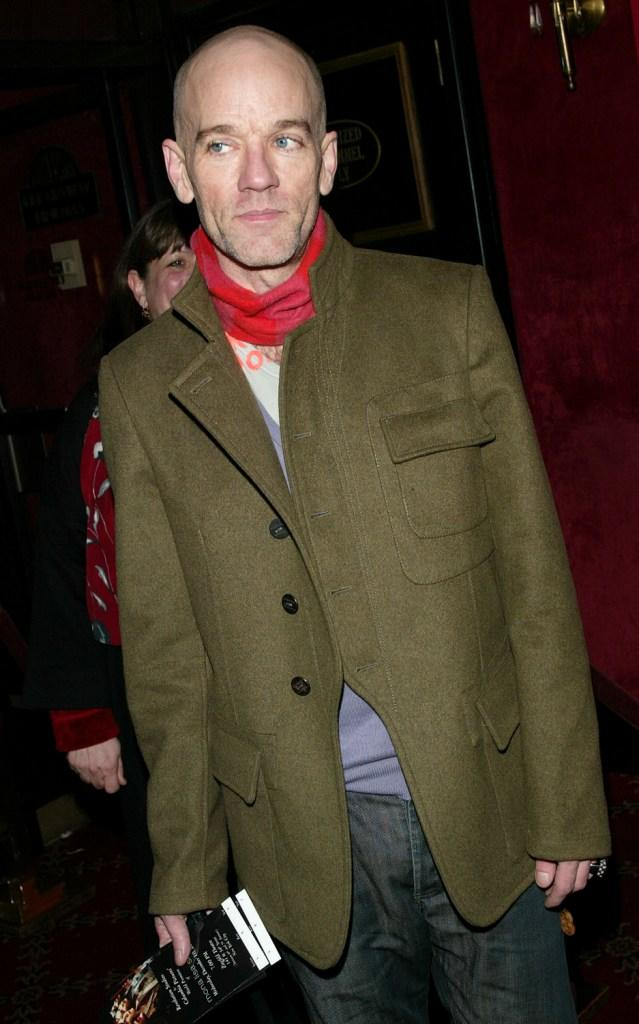 R.E.M. at the world premiere of