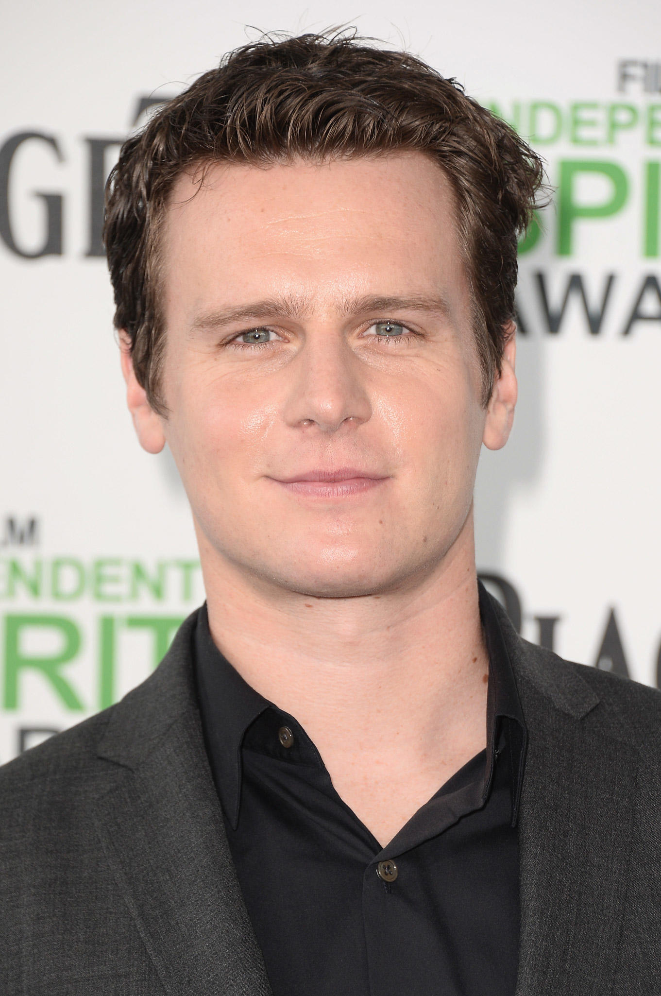 Jonathan Groff at the 2014 Film Independent Spirit Awards at Santa Monica Beach in Santa Monica, CA.