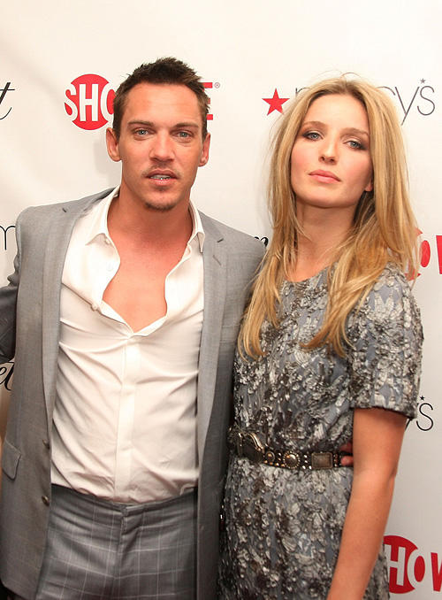 Jonathan Rhys Meyers and Annabelle Wallis at the official launch party of third season of Showtime's