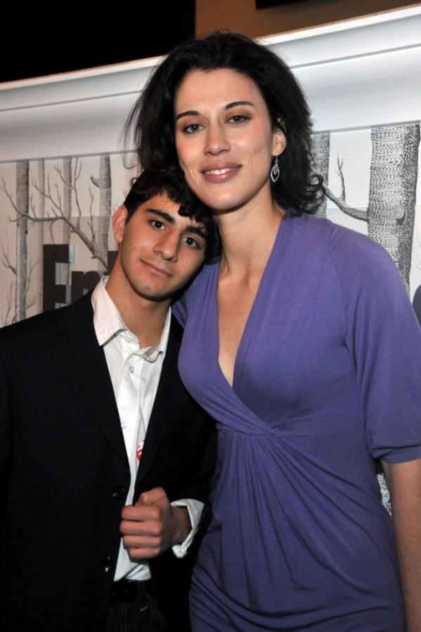 Melkar Muallem and Director Cherien Dabis at the Entertainment Weekly & L'Oreal Paris party during the 2009 Sundance Film Festival.