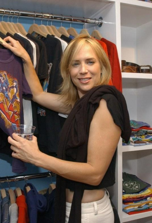 Sherrie Rose at the opening of the new boutique Lo-Fi.
