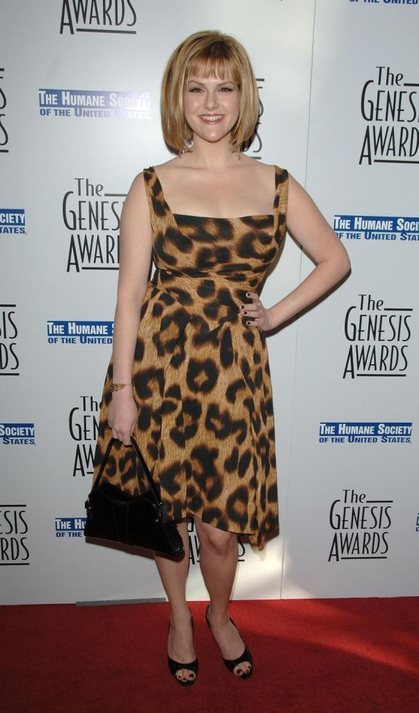 Sara Rue at the 21st Genesis Awards.