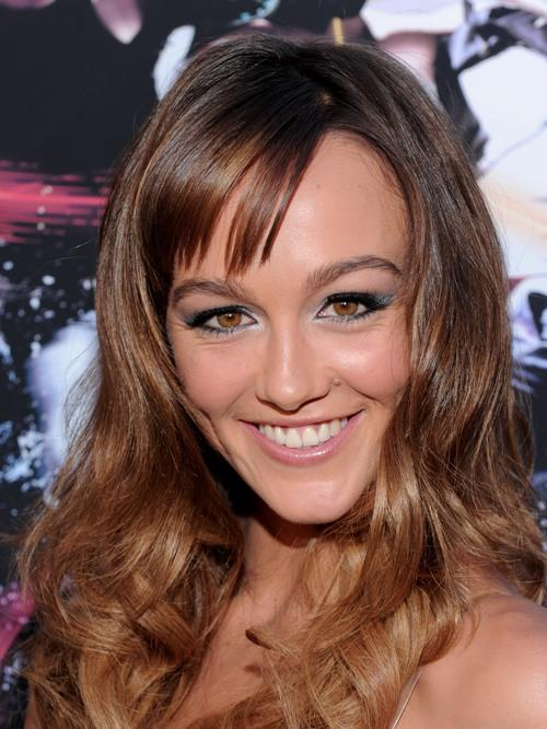 Sharni Vinson at the California premiere of