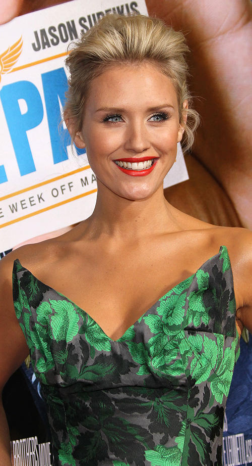 Nicky Whelan at the California premiere of