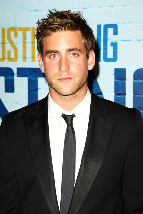 Oliver Jackson-Cohen at the world premiere of