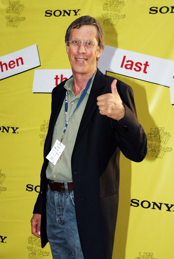 Bruce Spence at the 2008 Sony Tropfest.
