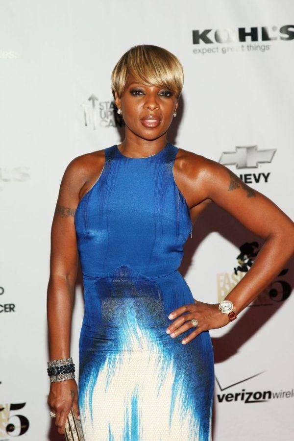 Mary J. Blige at the Conde Nast Media Group's Fifth Annual Fashion Rocks.
