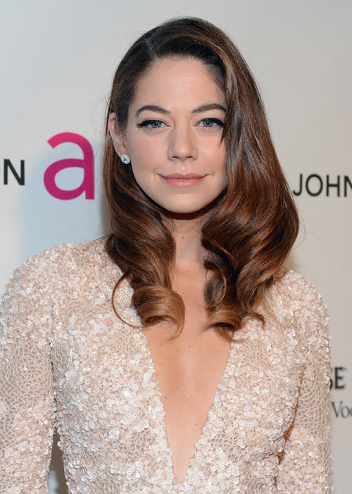 Analeigh Tipton at the 21st Annual Elton John AIDS Foundation Academy Awards Viewing party.