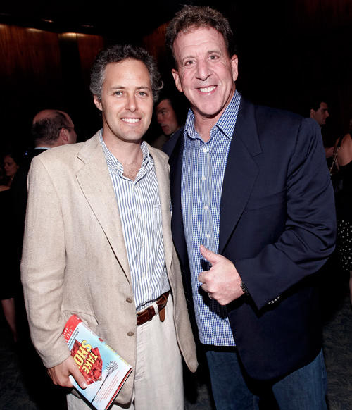 David Lauren and Jake Steinfeld at the TAKE A SHOT! Book Release Event in New York.