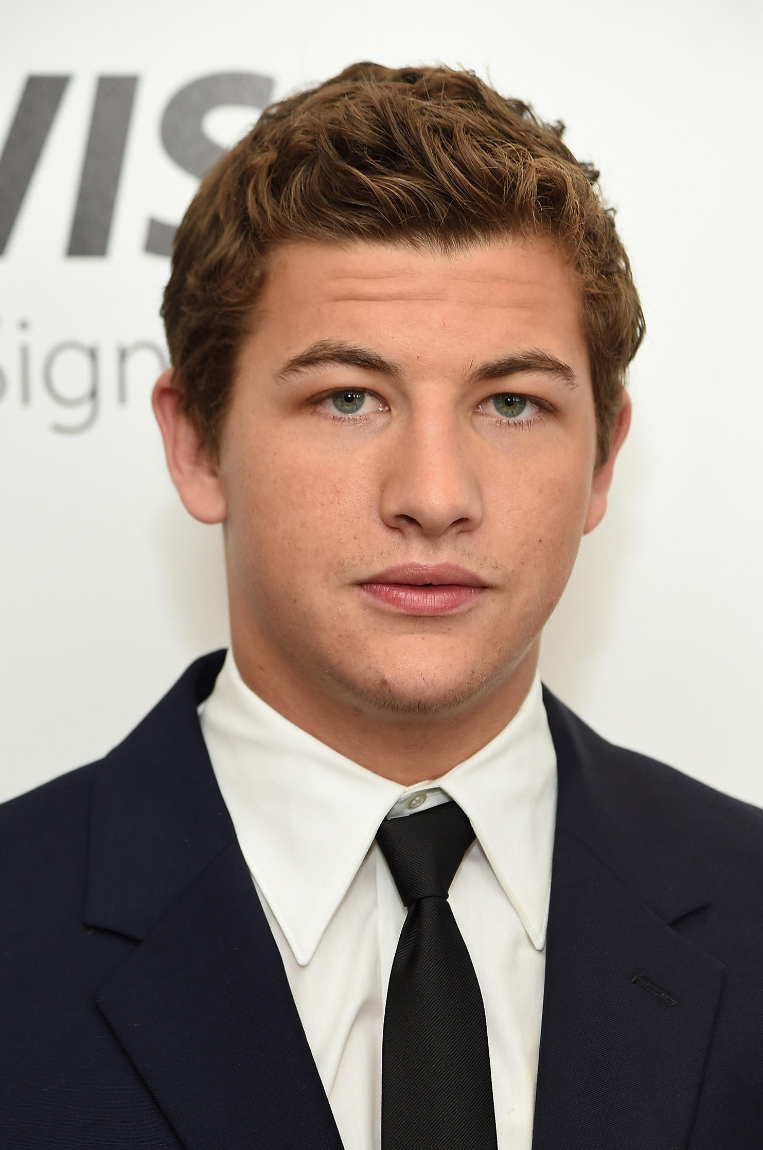 Tye Sheridan at the 'X-Men Apocalypse' New York screening at Entertainment Weekly.