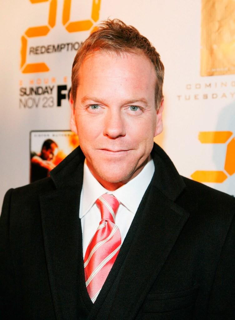 Kiefer Sutherland at the world premiere screening of