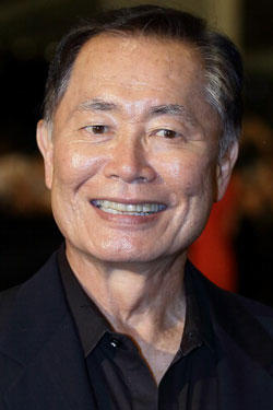 George Hosato Takei walks the red carpet during the Social Star Awards 2013 at Marina Bay Sands on May 23, 2013 in Singapore.