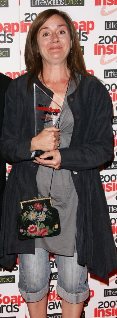 Sophie Thompson at the Inside Soap Awards 2007.