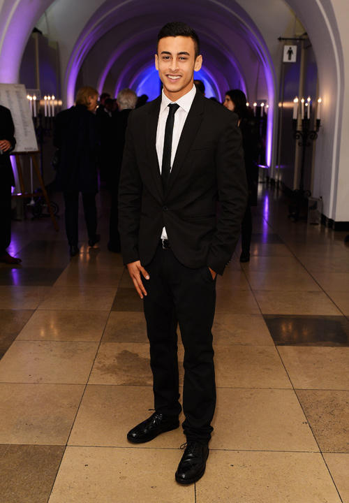 Fady Elsayed at the 56th BFI London Film Festival Awards.
