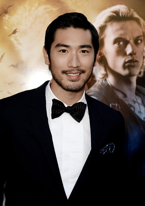 Godfrey Gao at the California premiere of