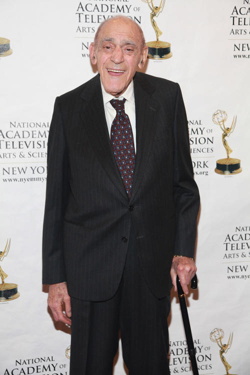 Abe Vigoda at the 55th Annual New York Emmy Awards Gala in New York.