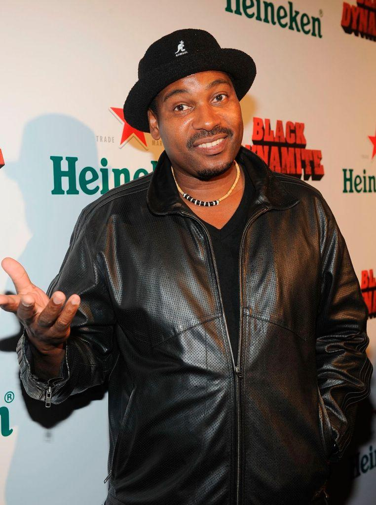 Mykelti Williamson at the Los Angeles premiere of