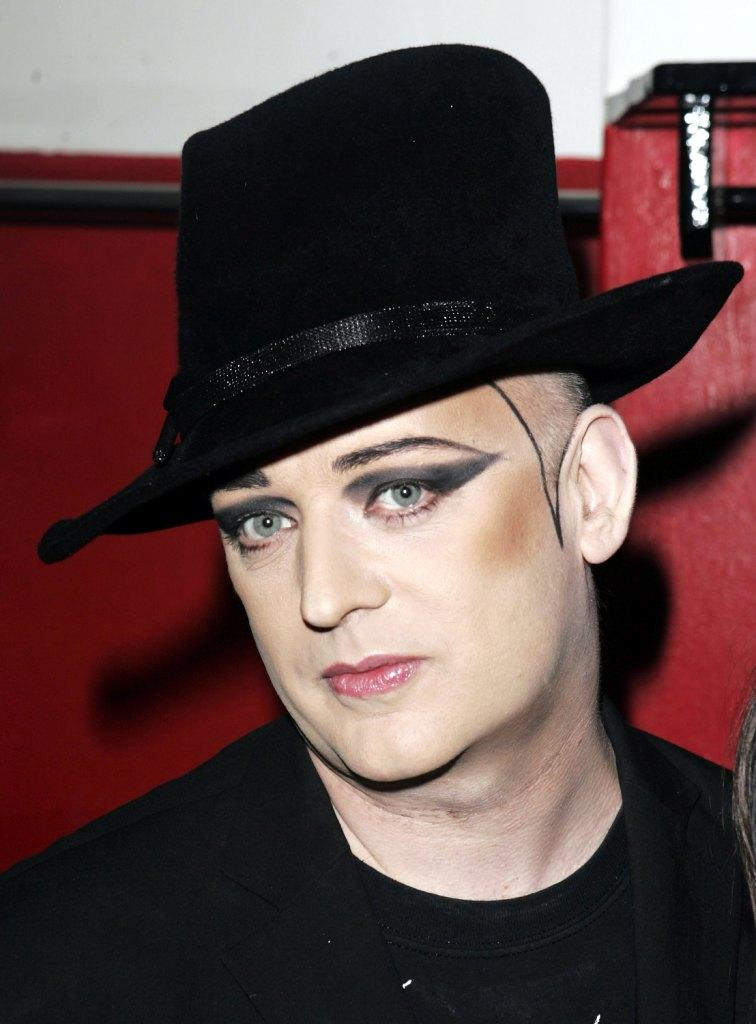 Boy George at the Music Showcase headlined by Amanda Ghost at Too2Much.