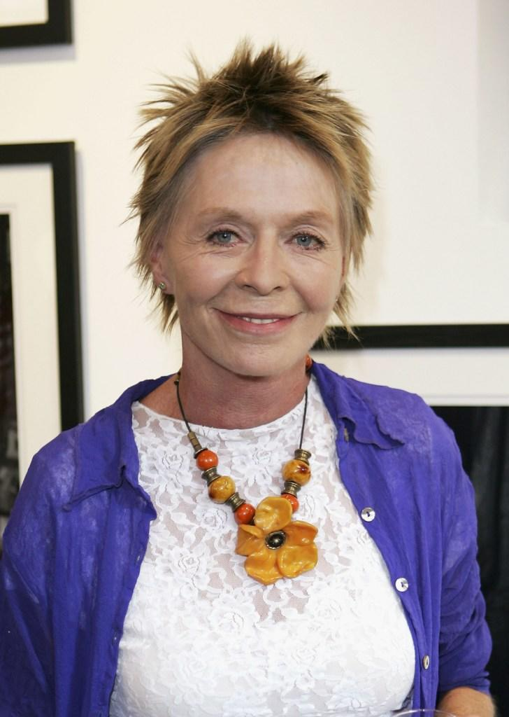 Susannah York at the private view for