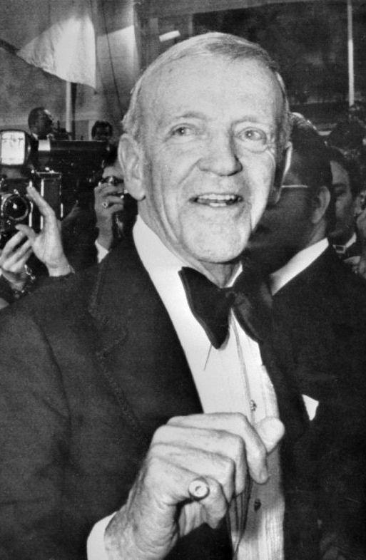 Fred Astaire at the Cannes Film Festival.